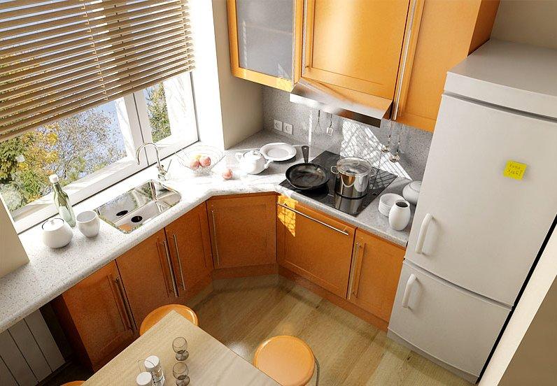 Кухонные гарнитуры для маленькой кухни своими руками
