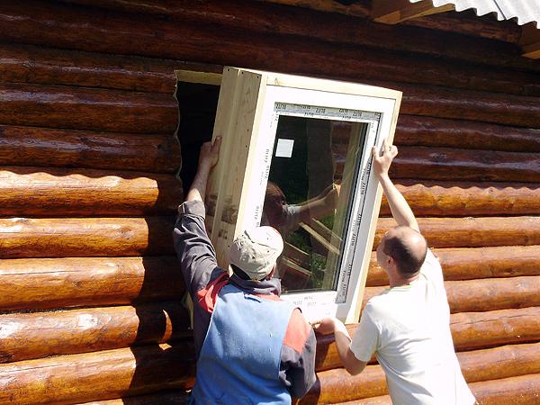 Монтаж деревянных окон своими руками видео