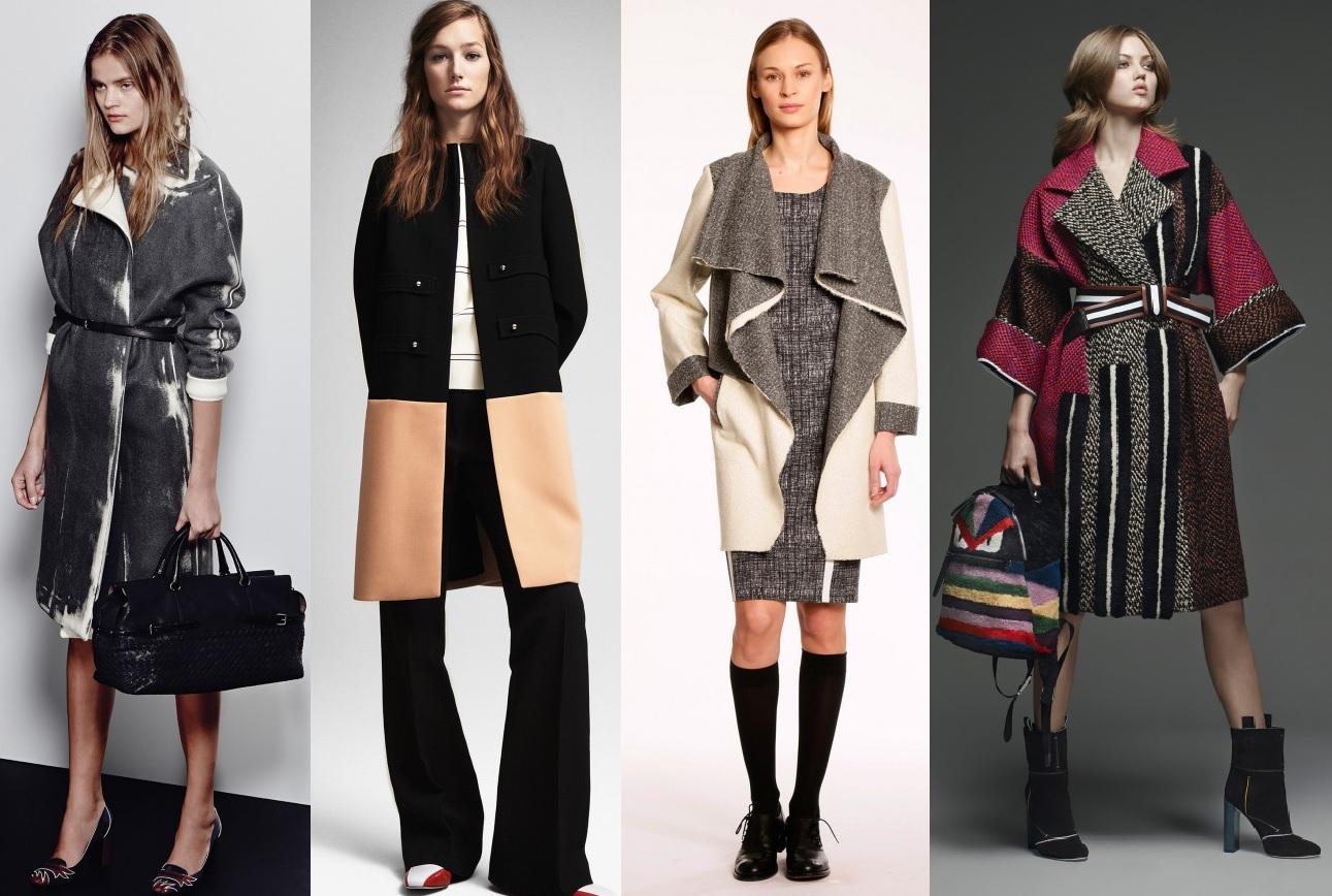 зимние пальто 2016 женские фото