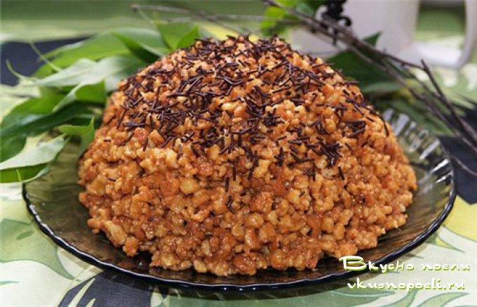 Торт муравейник и рецепт